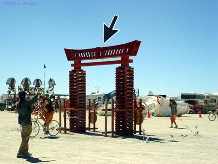 cursor kite burning man