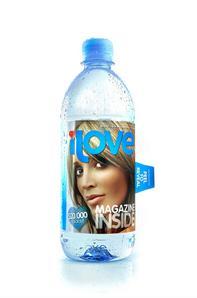 ilove water bottle