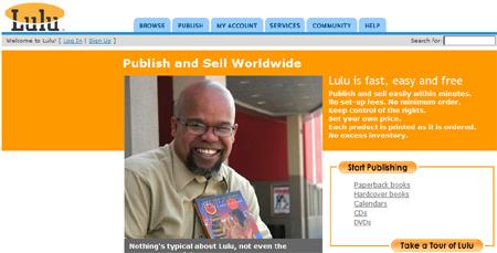 lulu web publishing
