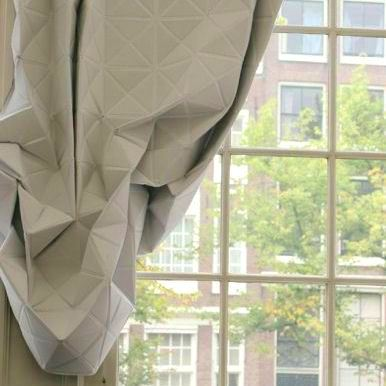 faceted curtains