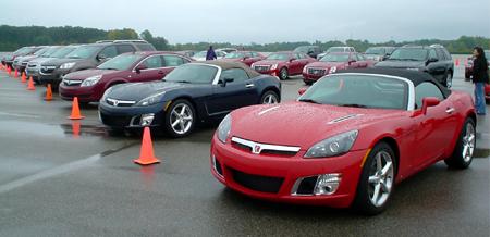 GM test drive detroit driving
