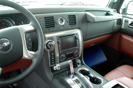 Hummer h3 Interior Photos