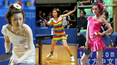 Naomi Yotsumoto stylish ping pong player