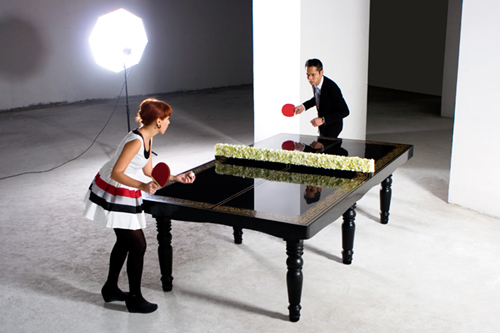 Ping pong dining table by hunn wai designverb - Space needed for a ping pong table ...